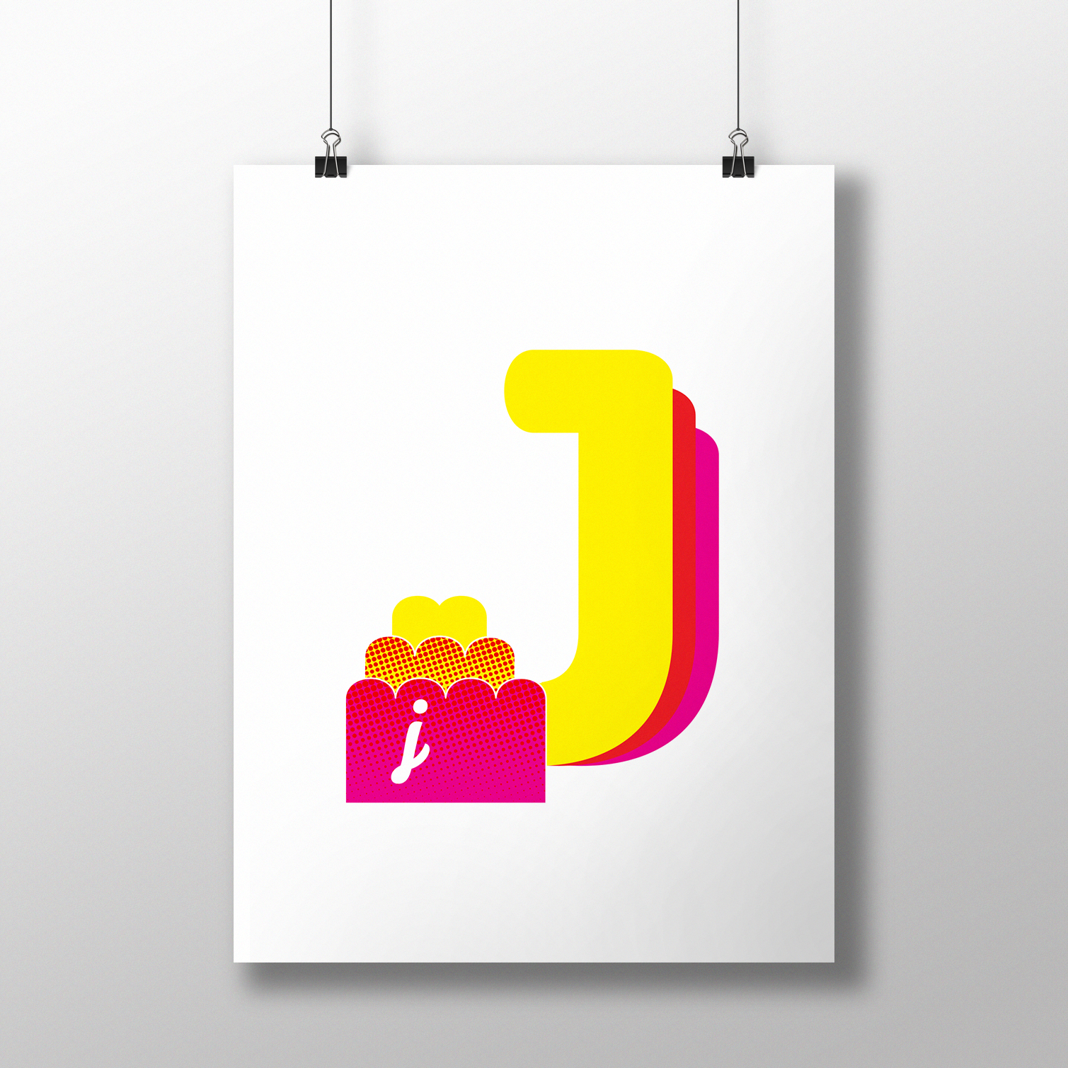 alphablot alphabet illustration jelly letter j
