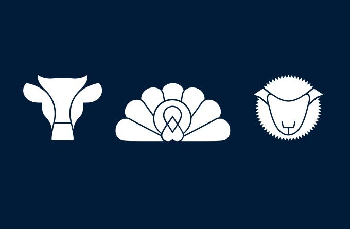 Angus Butchers icon suite