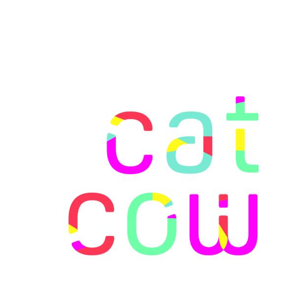 CatCow yoga  logo and branding